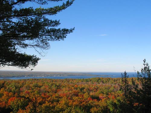 Baraga from Little Mountain