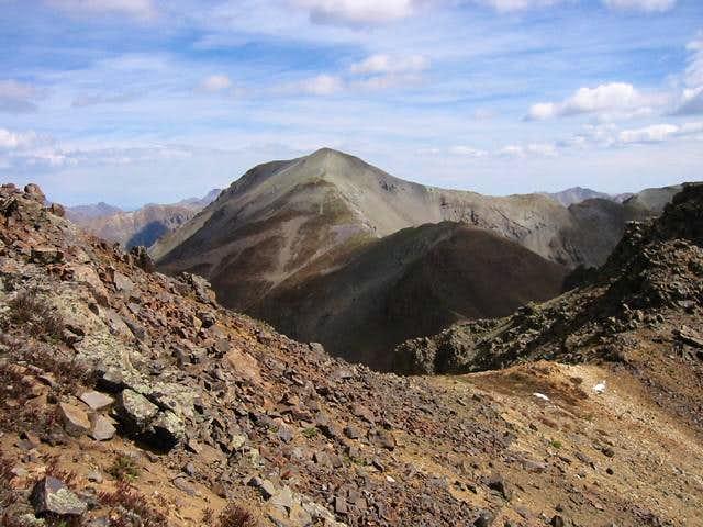 The fourteener Handies Peak...