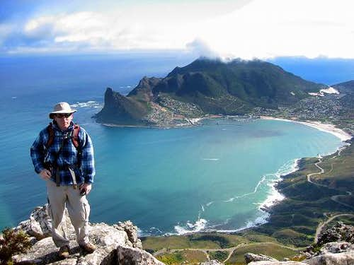Me on Noordhoek Peak