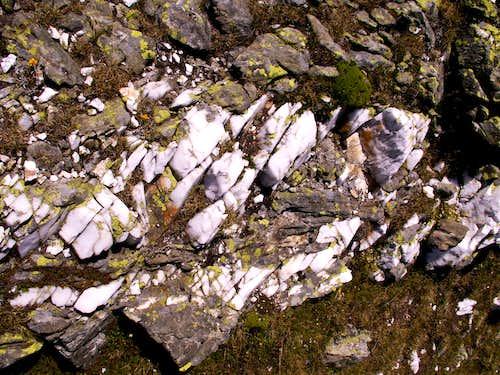 White quartz...