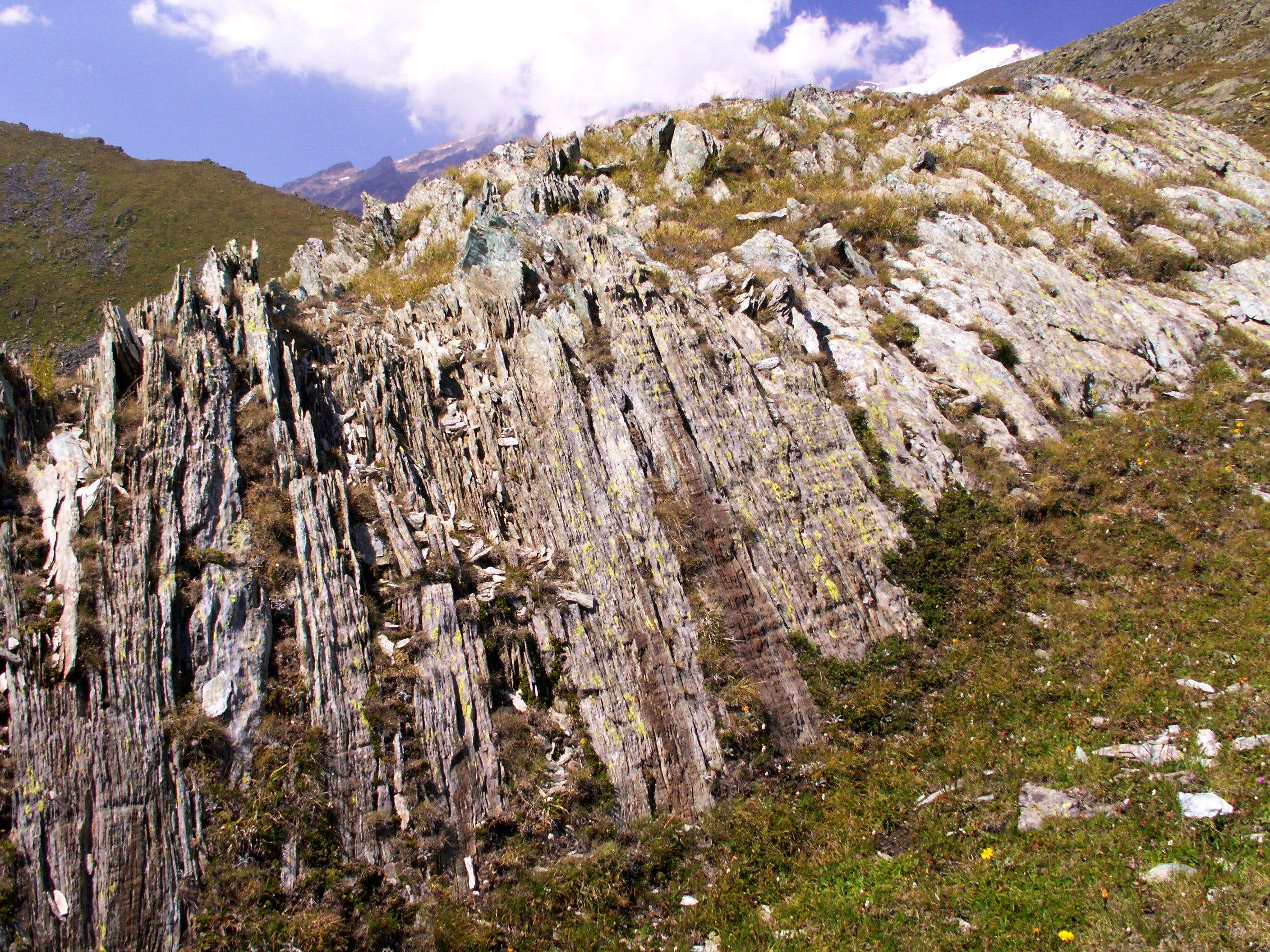 Short geology of the Monte Rosa Massif