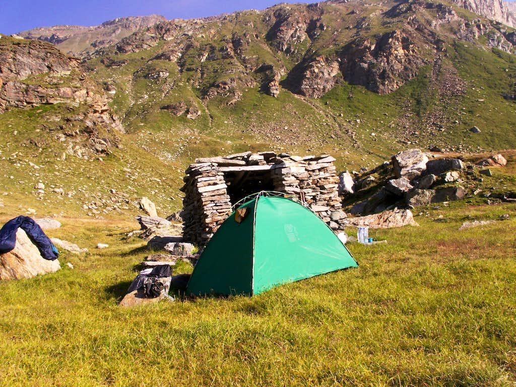 My camp...