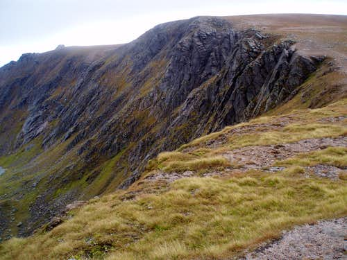 South top of Beinn a\'Bhuird