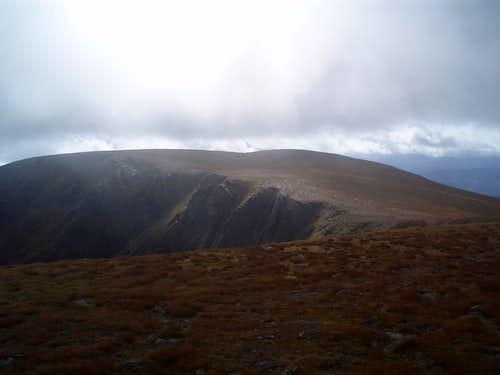 South top of Beinn a'Bhuird