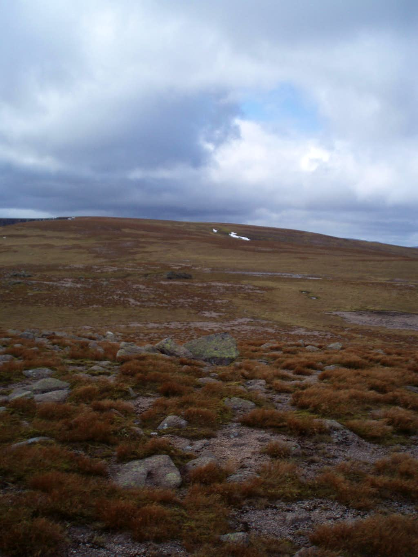 High on the plateau of Beinn a'Bhuird