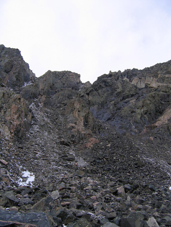 Drift Peak east couloir