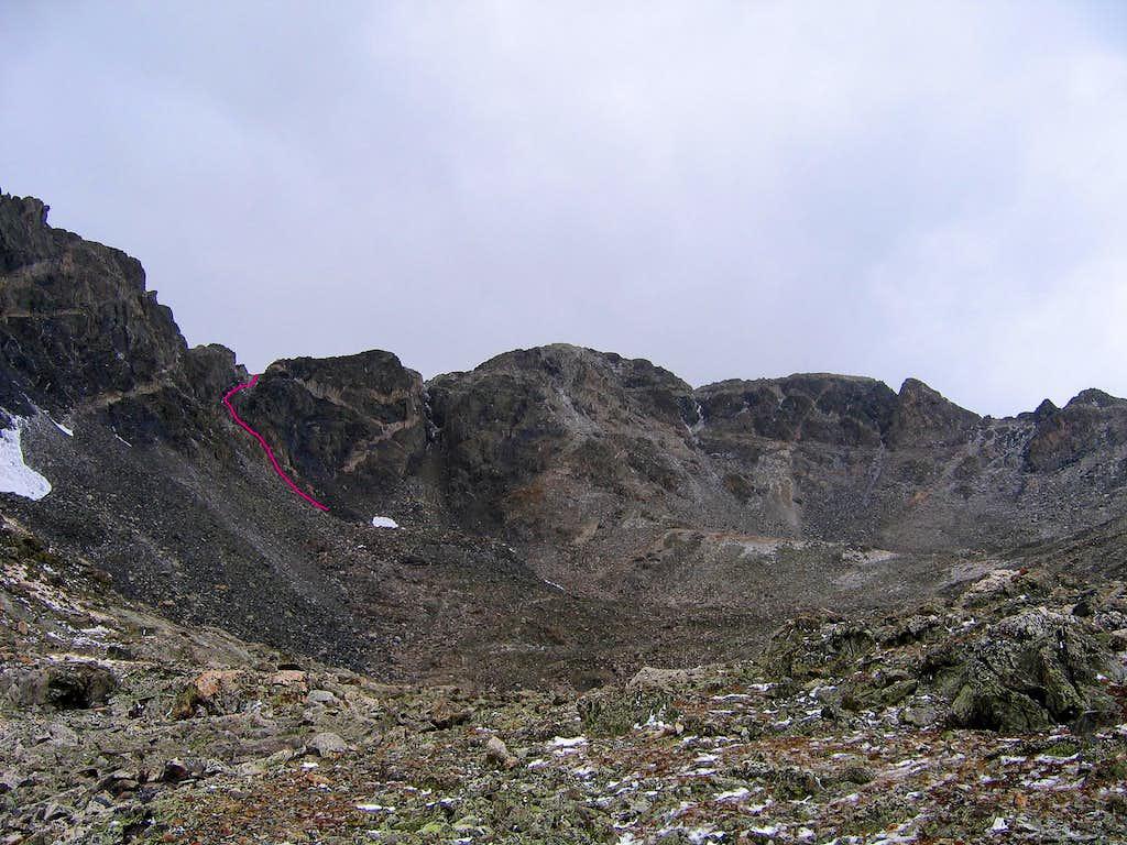 Drift Peak from Monte Cristo drainage