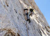 Climbing  Attenti alle Clessidre route