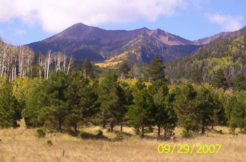 Agassiz Peak in Autumn