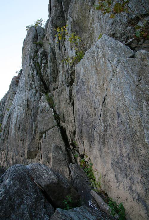 45-Degree Downclimb (5.0)