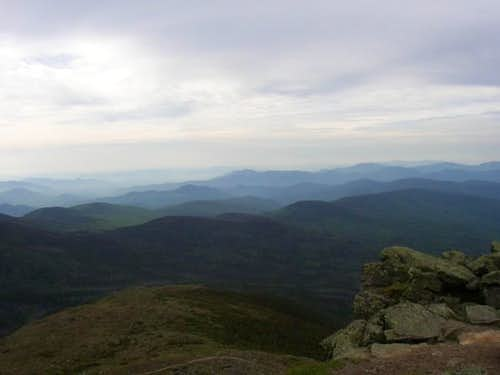 View of Oakes Gulf from Mt....