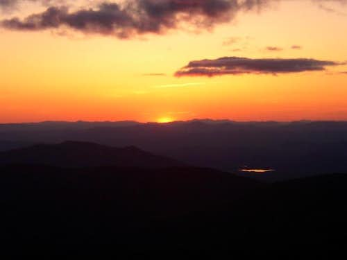 Sunset on Mount Monroe\'s...