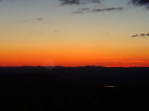 Sunset from Mt. Monroe\'s...