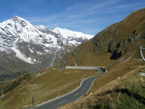 Grossglockner road.