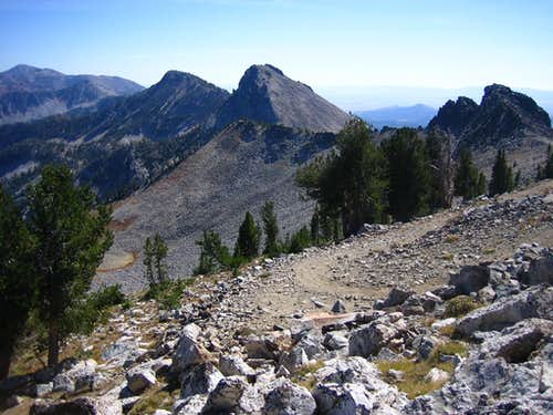 SE Ridge of Iron Mtn