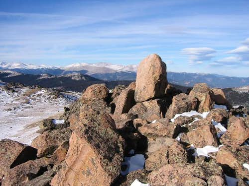 """Peak Z\'s"" dramatic summit..."