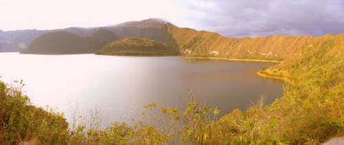 Laguna Cuicocha, Ecuador.
