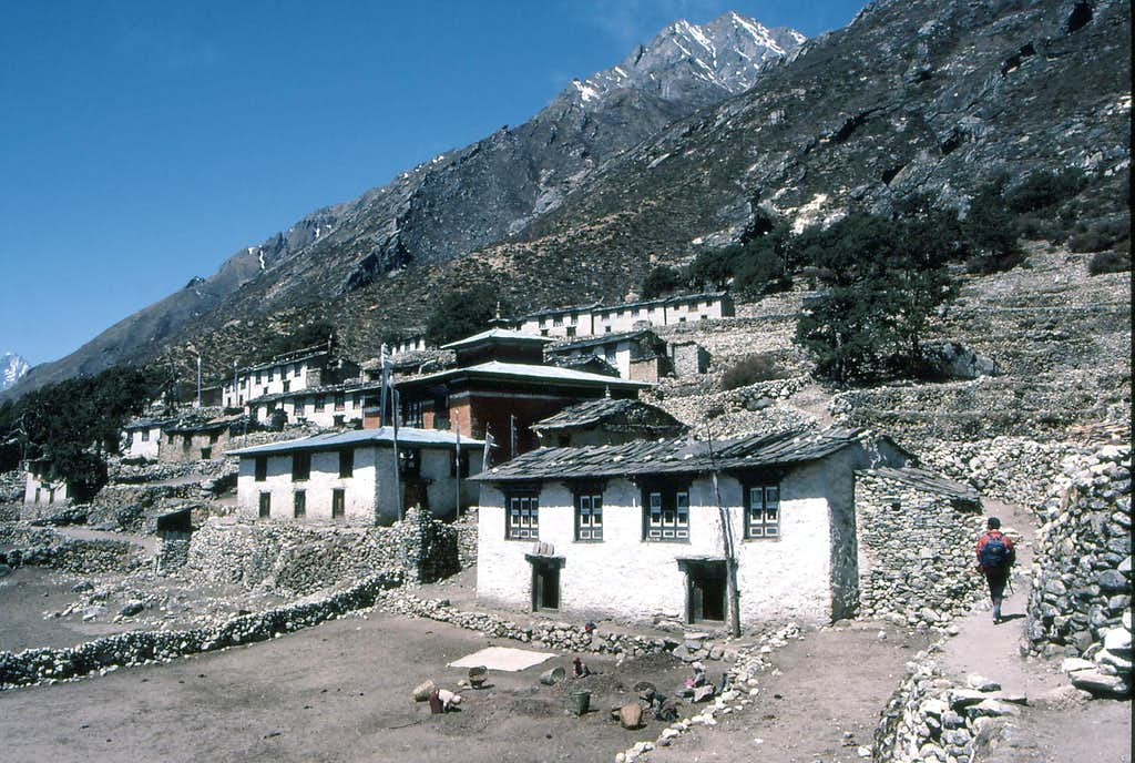 Panboche and the Famous Monastery