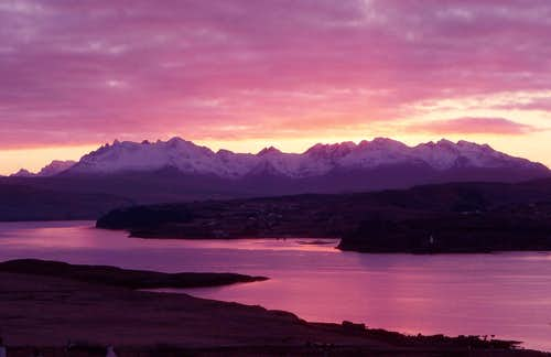 Black Cuillin Sunset