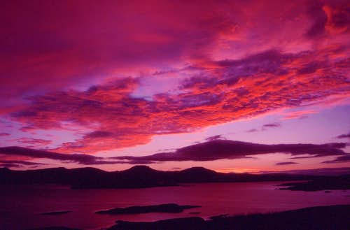 Ullinish Sunset