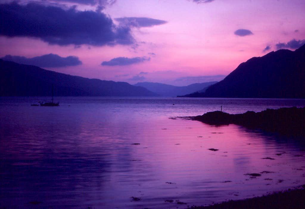 Loch Duich Sunset