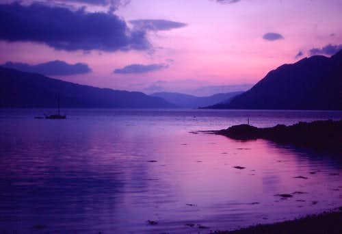 Loch Duich Sunset