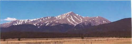 Photo of Mt. Elbert (14,440'...