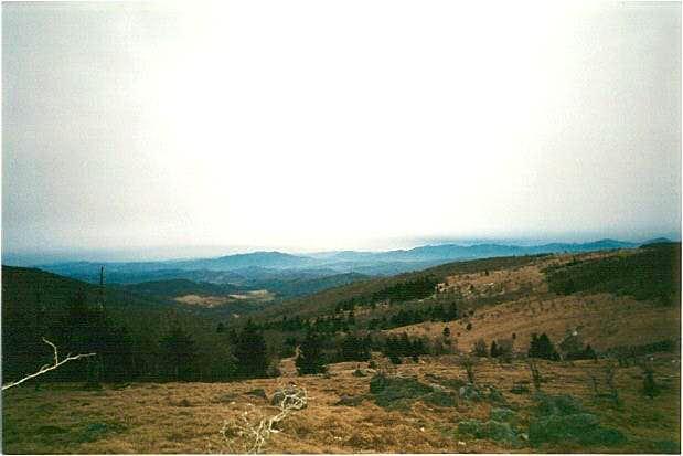 View from Wilburn Ridge....