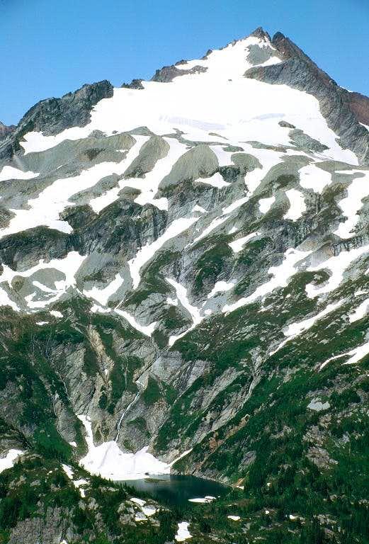 Sahale Peak and Doubtful Lake