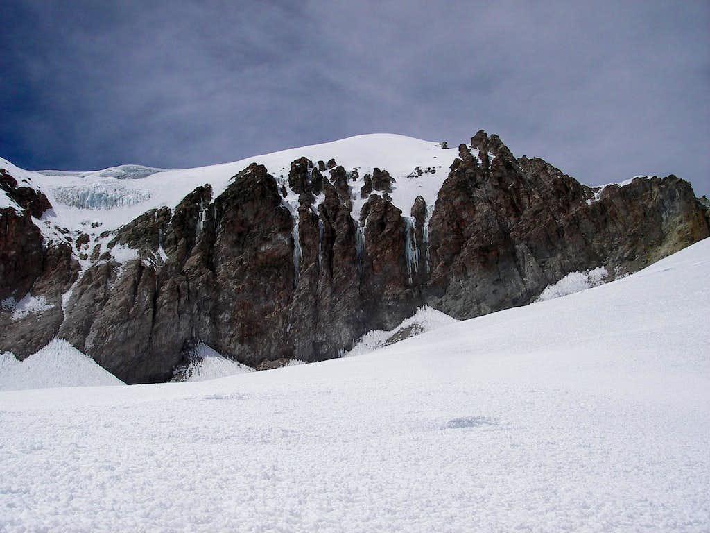 Nevado Solimana Summit