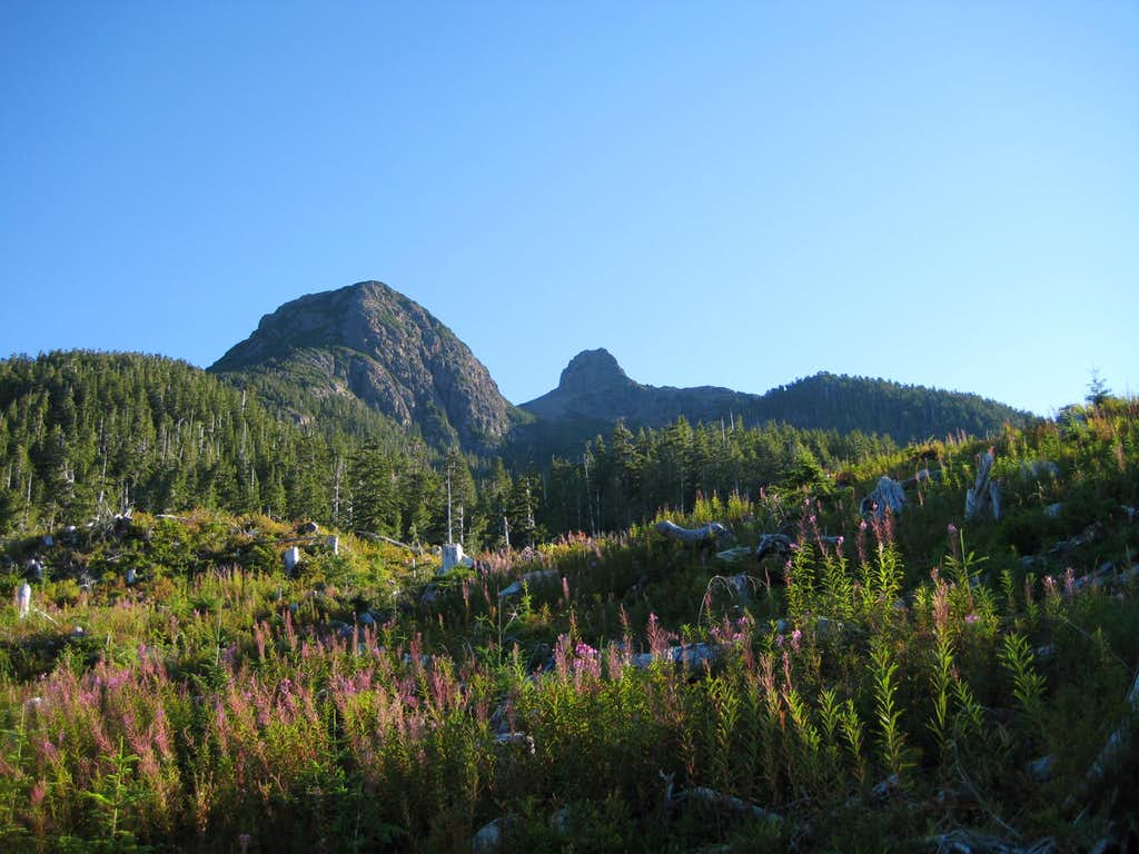 Pinder Peak and The Horn