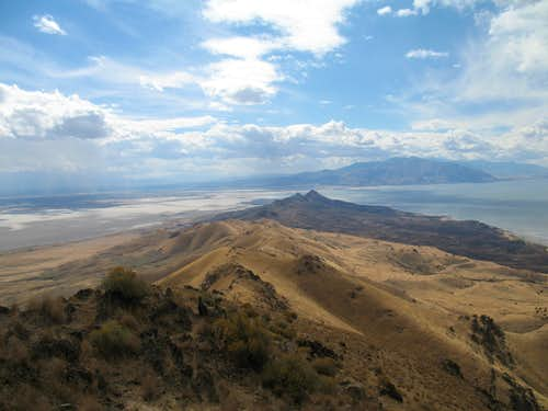 Looking over at Stansbury