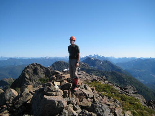 On The Summit of Pinder Peak