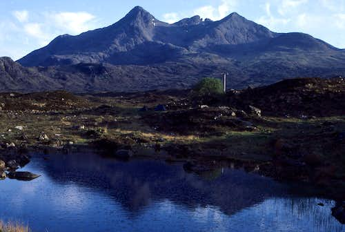 The Northern Cuillin From Sligachan