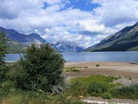 North, into Waterton National Park
