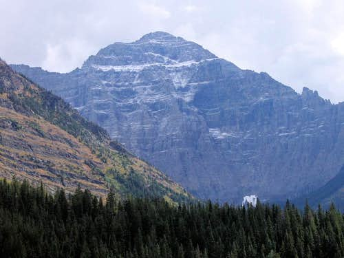 Mount Cleveland's North Face.
