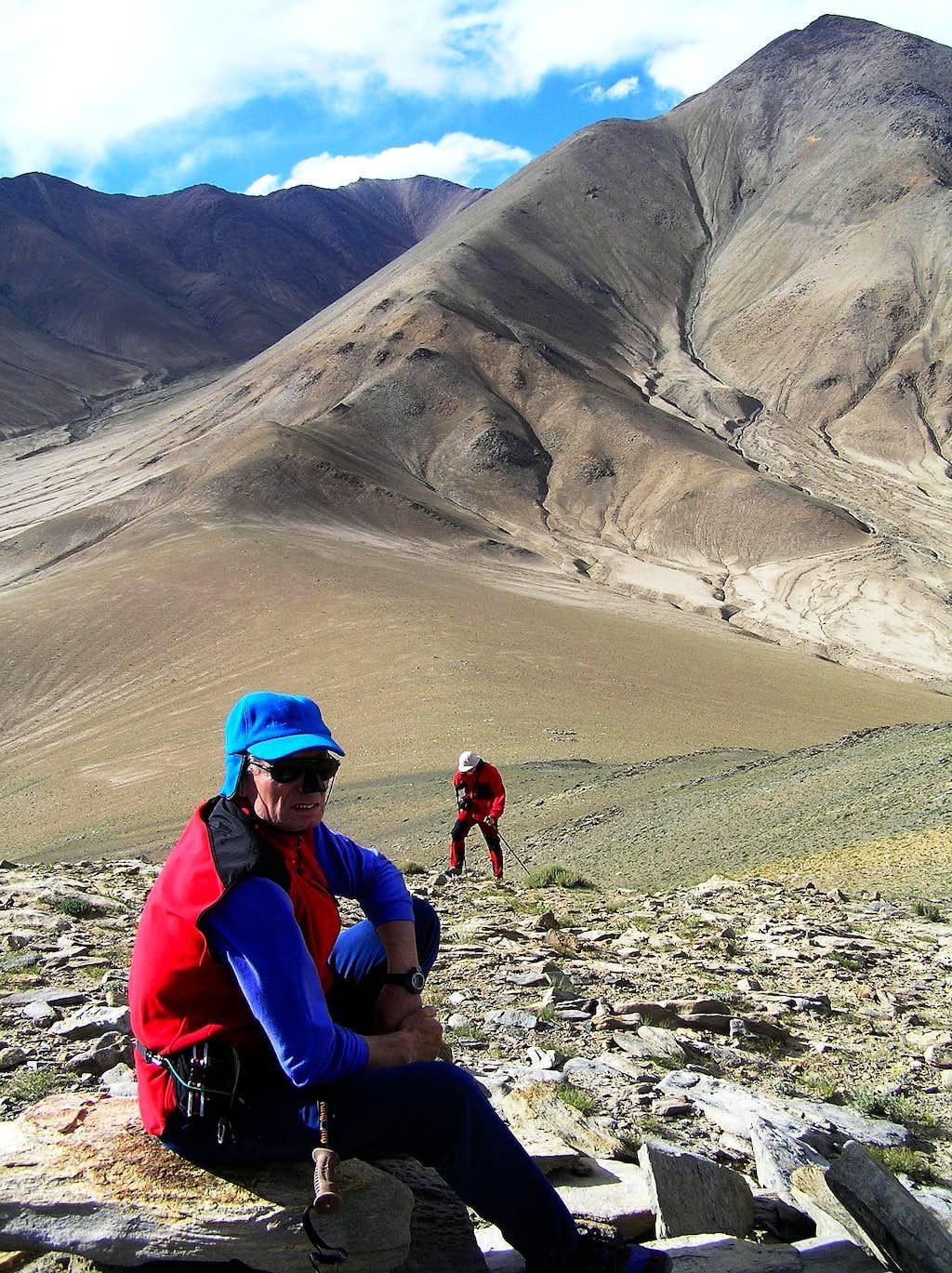 Kun Lun - an unnamed 4700 m high peak