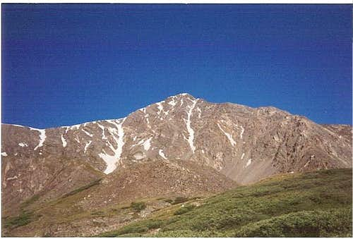 View of Torreys Peak, nearing...