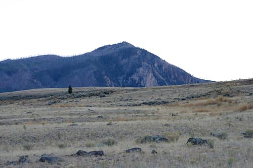 Bunsen Peak from the North