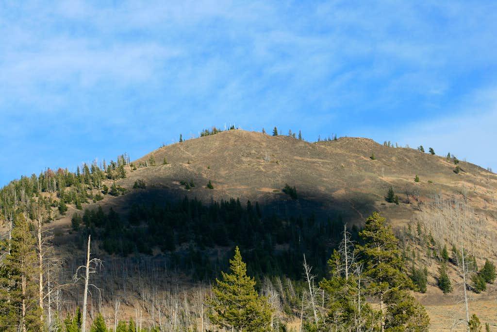 Bunsen Peak from Glen Creek Trailhead