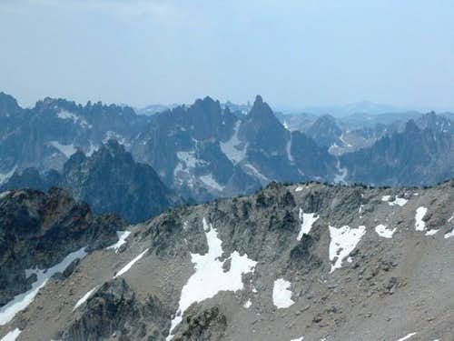 This is Warbonnet Peak from...