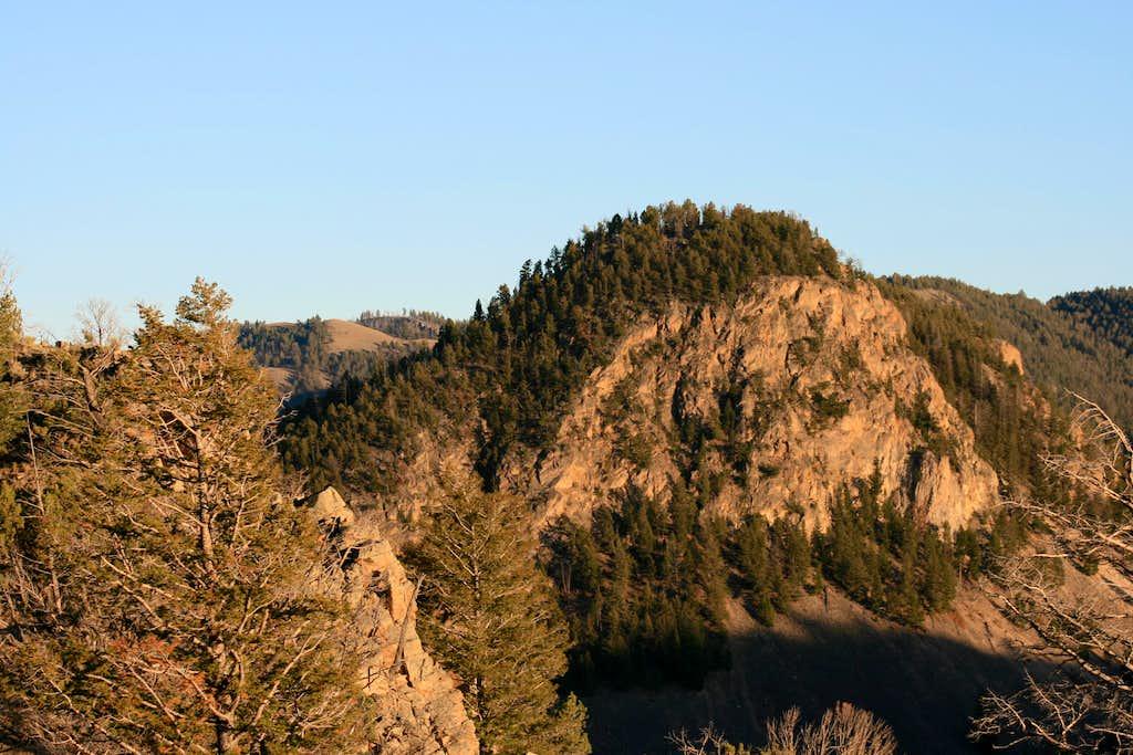 Turkey Pen Peak from Rattlesnake Butte