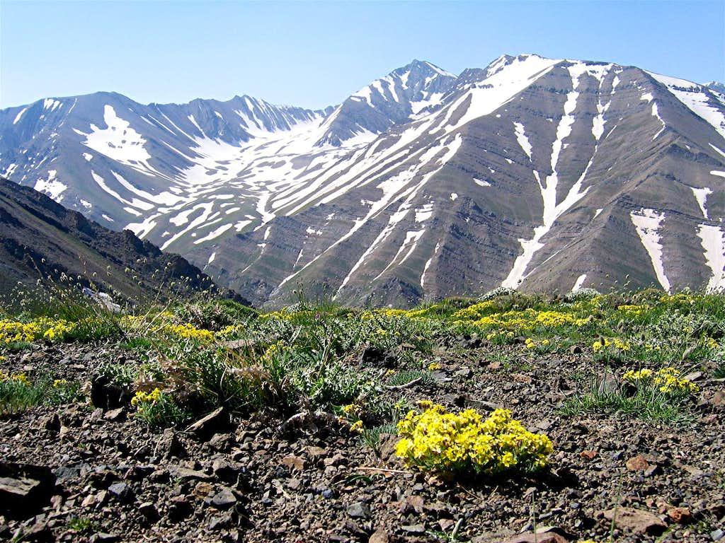 From Gavan Poshteh Pass