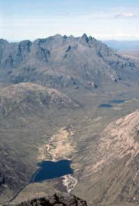 The Northern Cuillin from Blaven