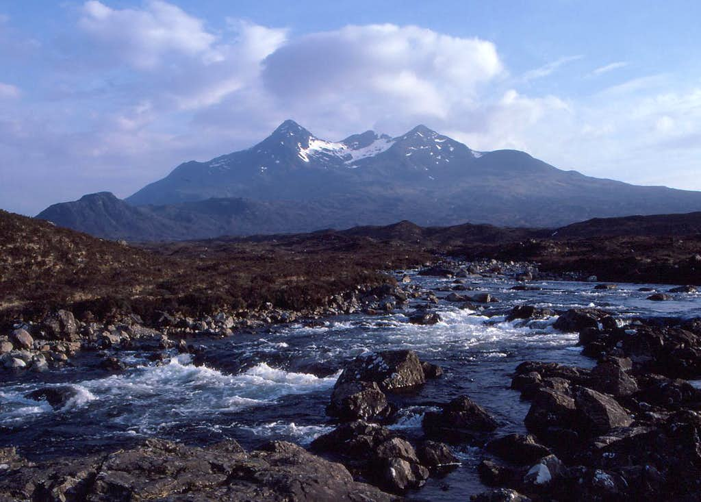 Northern Cuillin from near Sligachan