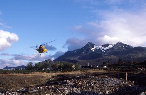 Sligachan Helicopter