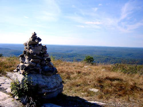 Cairn on Blue and Beyond