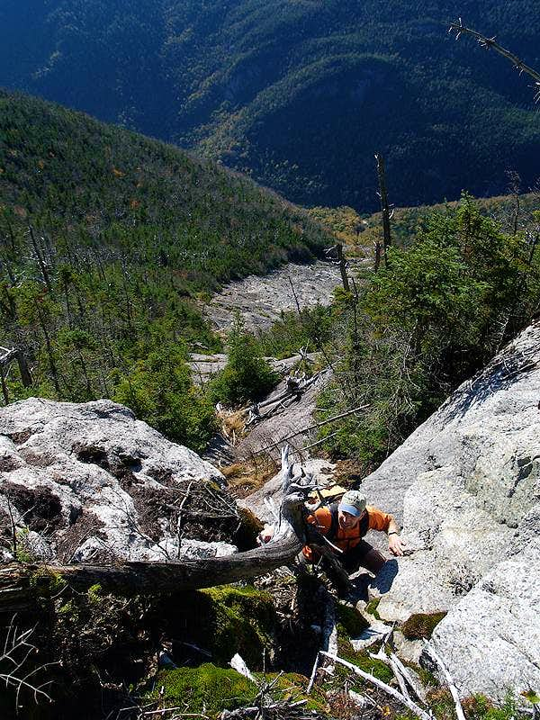 Nippletop Slide - Entering The Cliffs