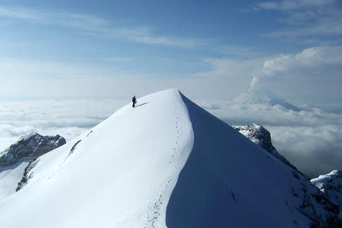 Reaching the false summit