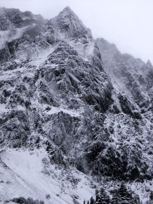 Mix-up Peak from Cascade Pass